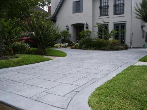 Stamped Concrete Driveways (2)